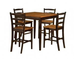 China bar height pub table and chairs on sale
