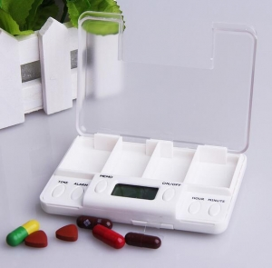 China Electronic Pill Box with Alarm on sale