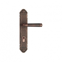 China Entry Lock Set with Door Lever Handle on sale