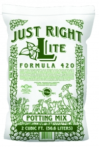 China Just Right Lite FORMULA 420 potting mix 2 cu ft. (75/plt.) on sale