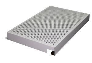 China Perforated Aluminum Corrugated Panel on sale
