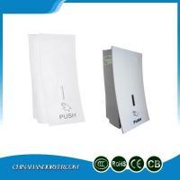 Manual Push Operation Plastic Liquid Soap Dispenser For Bathroom