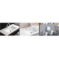 China art counter basin round corner ceramic bathroom wall-hung basin on sale