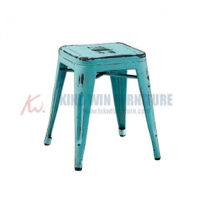 China Vintage Style Restaurant Series Metal Dining Chair Tolix Chair on sale