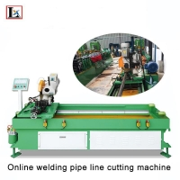 China AC 315 Swing Arm Type Non Flat Cutting Table Metal Pipe Cutting Machine on sale