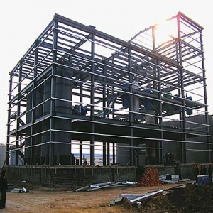 China STEEL STRUCTURE high rise steel structure building on sale