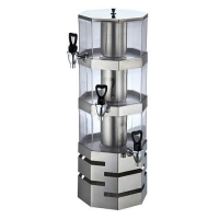 China Triple Layer Cold Beverage / Juice Dispenser on sale