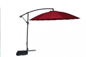 China Garden Cantilever Umbrella with 18 Fiberglass Ribs on sale