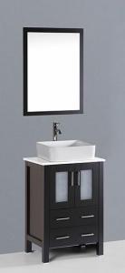 China Bathroom Vanities 24'' Bosconi AB124RC Contemporary Single Vanity on sale