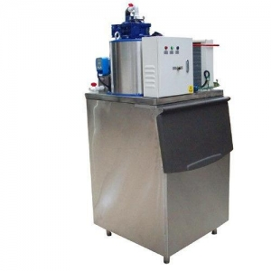 China Professional Ice Flaker Machine , Flake Ice Making Machine For Cooling And Keep Fresh on sale