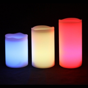 China Outdoor & Indoor Color Changing Candles on sale