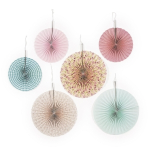 China Vintage Collection Hanging Fans (6 pc) on sale