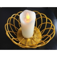 China Real Wax flameless dancing wick led candle on sale