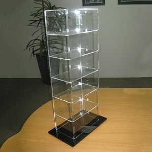 China OEM ODM Plexiglass PMMA Acrylic Food Display Cabinet on sale