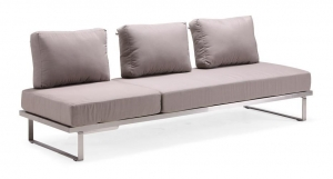 China Sofas Outdoor sectional sofa chaise lounge(SC010T3) on sale