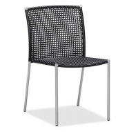 Chairs Hot sale rattan garden dining chair outdoor patio chair armless (Y071T)