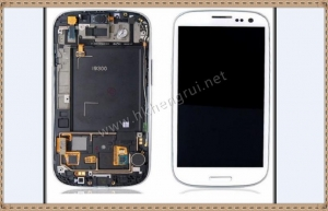 China Galaxy S3 lcd screen assembly Galaxy S3 lcd touch screen assembly on sale
