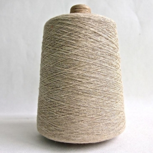 China Hemp Certified Organic Cotton Blend Yarn for Weaving and Knitting on sale