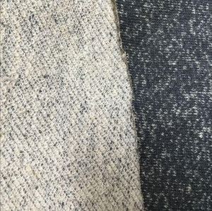 China Hemp Organic Cotton Knitted French Terry Fabric on sale