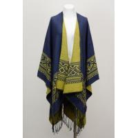 China Fashion Pashmina Thick Women Blanket Poncho Cardigan Shawl Wrap on sale