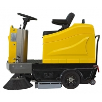 China GEMEI Low Price Electric Road Sweeper Machine For Sale on sale