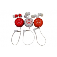 China retractable earphone BP-F24A102-BK retractable earphone on sale
