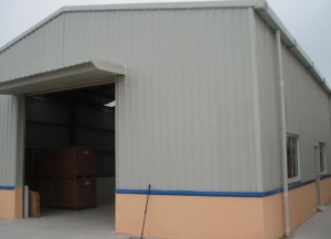 China Steel Structure  Prefabricated Steel Warehouse on sale