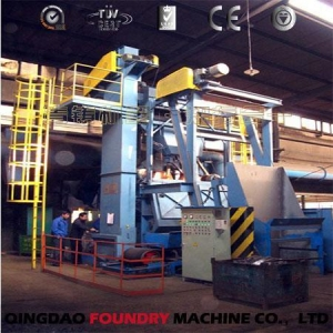 China 28GN Rubber Belt Shot Blasting Machine for Sale on sale