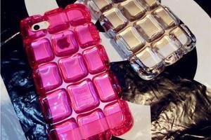 China For iPhone 6 TPU ice shell Big Diamond phone case on sale