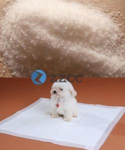 China Super Absorbent Polymer For Pet Pads on sale