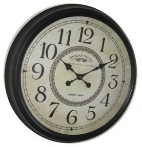 China Metal Wall Clock Numbers:KLM24-W109 on sale