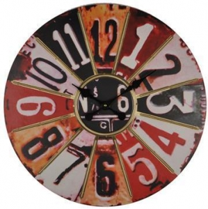 China Metal Wall Clock Numbers:KLX-W004 on sale
