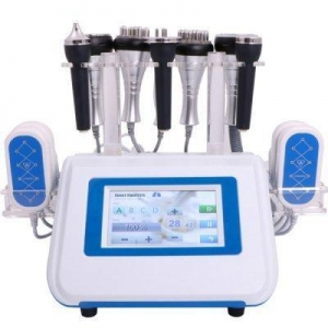 China Ultrasonic Skin Treatment 5 in 1 Multipolar Rf Lipo Laser Slimming on sale