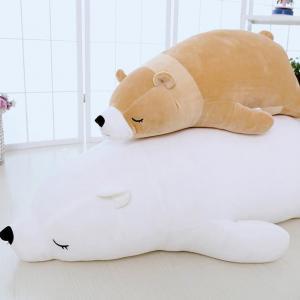 China Polar bear plush toy polar bear pillow bear dolls DS-BR001 on sale