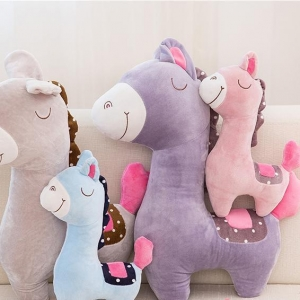 China Plush horse animal toys pony doll horse pillow DS- DS-HS001 on sale