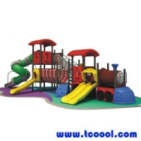 China Tincool Amusement Outdoor Plastic Toy Swing Slide on sale