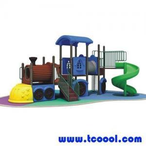China Tincool Amusement Children Outdoor Amusement Playground Slide Plastic and Galvanized Steel on sale