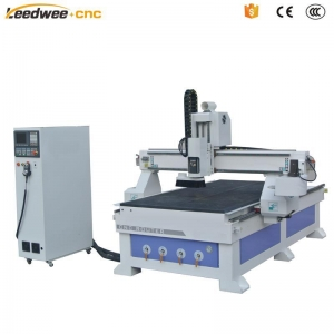 China Servo Motor /HSD 9.0kw Spindle 1325 ATC CNC Router Machine for Sale on sale