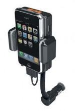 China Handfree FM transmitter Car Charger with Mount holder for iPhone on sale