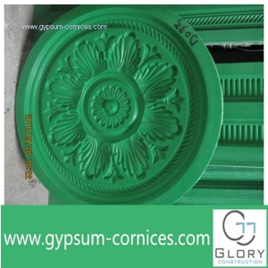 China Mould for gypsum product D006 Fiberglass mold plaster ceiling rose making for ceiling decoration on sale