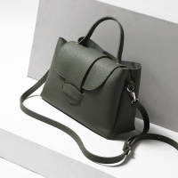 Guangzhou factory copy brand design soft leather handbags