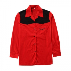 China WORKWEAR WORKER SHIRT-POLY COTTON LONG SLEEVE-1 on sale