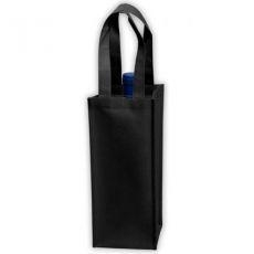 China Non Woven 1 Bottle Reusable Wine Bag SB008 on sale