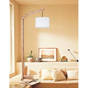 China Creative Street Light style Wooden Floor Lamp on sale