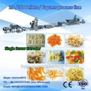 China Automatic2D/3D Pellet make machinery/Panipuri machinery/LDanLD snack pellet machinery on sale