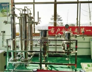 China Purification by biogas membrane separation on sale