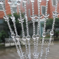 China Spring 30MM&18MM&8MM Wire Crystal Plastic Beading--YZC010 on sale