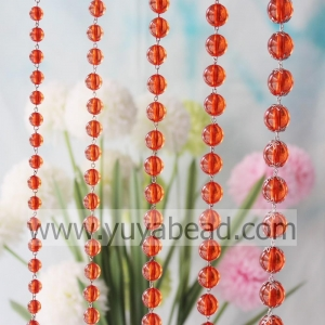 China Flower Holder 10MM Plastic Clasp Beading Curtain G--YZN003-10MM on sale