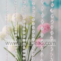 China Xmas Decoration 22MM Acrylic Clasp Beaded Curtain--YZN001-22MM on sale