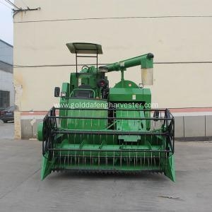 China updated control system price of rice combine harvester on sale